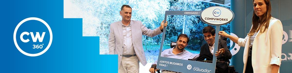 Compuworks apoia 10ª Edição da Ação Qualidade de Vida da Associação Salvador