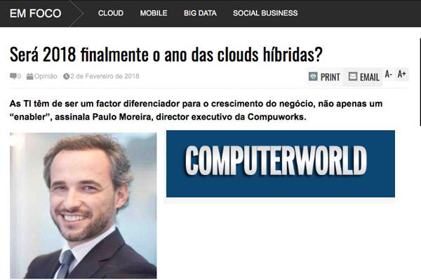 Compuworks - Será 2018 finalmente o ano das clouds híbridas?